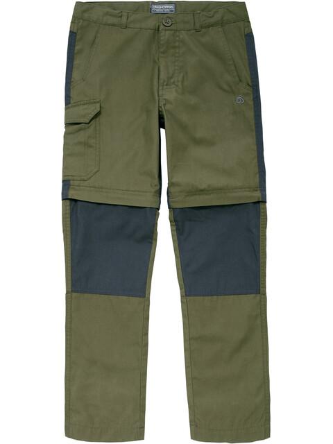 Craghoppers Kiwi Convertible - Pantalon Enfant - olive